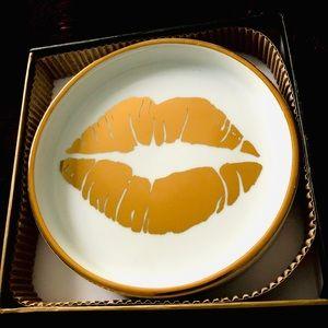 Rosanna Accents - Lips 👄 Wine Coaster By Rosanna